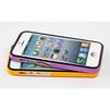 Чехол-накладка для Apple iPhone 5, 5S, SE (LF CD126279) (черный, оранжевый) - Чехол для телефонаЧехлы для мобильных телефонов<br>Чехол защищает Ваше устройство от грязи, пыли, брызг и других нежелательных внешних повреждений.<br>