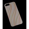 Чехол-накладка для Apple iPhone 5, 5S, SE (MACUUS R0006331 Волны) (золотистый) - Чехол для телефонаЧехлы для мобильных телефонов<br>Чехол защищает Ваше устройство от грязи, пыли, брызг и других нежелательных внешних повреждений.<br>