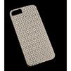 Чехол-накладка для Apple iPhone 5, 5S, SE (MACUUS R0006114 клетка мелкая) (белый, золотистый) - Чехол для телефонаЧехлы для мобильных телефонов<br>Чехол защищает Ваше устройство от грязи, пыли, брызг и других нежелательных внешних повреждений.<br>