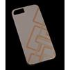 Чехол-накладка для Apple iPhone 5, 5S, SE (MACUUS R0006330 Полоски) (золотистый) - Чехол для телефонаЧехлы для мобильных телефонов<br>Чехол защищает Ваше устройство от грязи, пыли, брызг и других нежелательных внешних повреждений.<br>