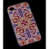 Чехол-накладка для Apple iPhone 4, 4S (R0007468) (Розовые узоры) - Чехол для телефонаЧехлы для мобильных телефонов<br>Плотно облегает корпус и гарантирует надежную защиту от царапин и потертостей.<br>