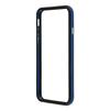 Чехол бампер для Apple iPhone 6, 6s 4.7 (R0006712) (синий с черным)  - Чехол для телефонаЧехлы для мобильных телефонов<br>Плотно облегает корпус и гарантирует надежную защиту от царапин и потертостей.<br>