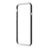 Чехол бампер для Apple iPhone 6, 6s 4.7 (R0006713) (белый с черным)  - Чехол для телефонаЧехлы для мобильных телефонов<br>Плотно облегает корпус и гарантирует надежную защиту от царапин и потертостей.<br>