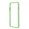 Чехол бампер для Apple iPhone 6 Plus, 6s Plus 5.5 (R0006381) (зеленый, прозрачный)  - Чехол для телефонаЧехлы для мобильных телефонов<br>Плотно облегает корпус и гарантирует надежную защиту от царапин и потертостей.<br>