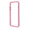 Чехол бампер для Apple iPhone 6 Plus, 6s Plus 5.5 (R0006383) (розовый, прозрачный)  - Чехол для телефонаЧехлы для мобильных телефонов<br>Плотно облегает корпус и гарантирует надежную защиту от царапин и потертостей.<br>