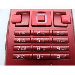Клавиатура для Sony Ericsson T700 (CD012447) (красный)