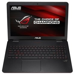 "ASUS G551JM (Core i7 4710HQ 2500 Mhz/15.6""/1920x1080/8.0Gb/1000Gb/DVD-RW/NVIDIA GeForce GTX 860M/Wi-Fi/Bluetooth/DOS) (90NB06R2-M01420) (черный)"