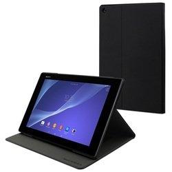 Чехол-подставка для Sony Tablet Z2 Muvit Rotary Stand (SECTB0001) (черный)