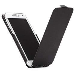 чехол-флип для samsung galaxy s5 (case-mate slim flip cm031055) (черный)