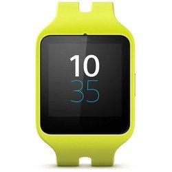 Sony SmartWatch 3 SWR50 (желтые часы с желтым ремешком)