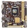 ASUS H81M-R/C/SI RTL - Материнская платаМатеринские платы<br>Материнская плата форм-фактора microATX, сокет LGA1150, чипсет Intel H81, 2 слота DDR3 DIMM, 1066-1600 МГц, разъемы SATA: 3 Гбит/с - 2; 6 Гбит/с - 2.<br>