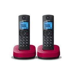 Panasonic KX-TGC312 (черно-красный)