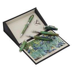 Ручка шариковая Visconti Van Gogh 2014 IRISES (78649) зеленый 1мм сталь