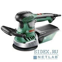 Шлифовальные машины Bosch PEX 400 AE 06033A4020 Шлифмашина эксцентриковая (350 Вт, частота колебания платформы до 21200 кол, мин, ход платформы 2.5 мм, пылесборник, 1.9 кг)