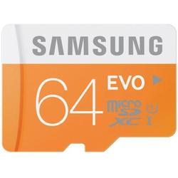 ����� ������ microSDHC Samsung EVO 64GB Class10 UHS-I + SD ������� (MB-MP64DA/RU)