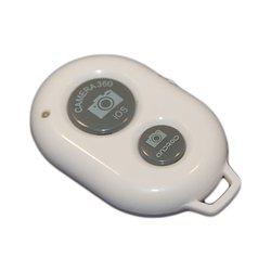 Bluetooth пульт управления камерой мобильного телефона или планшета на расстоянии, пульт для селфи (PALMEXX PX/BT-FOTO) (белый)