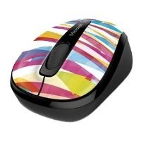 microsoft wireless mobile mouse 3500 limited edition bandage stripes black usb