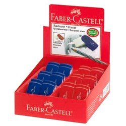 Ластик Faber-Castell Sleeve - мини 182411 (синий)