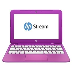 "hp stream 11-d076ur (celeron n2840 2160 mhz/11.6""/1366x768/2.0gb/32gb ssd/dvd нет/intel gma hd/wi-fi/bluetooth/win 8 64)"