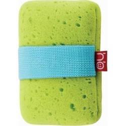 Губка для купания Happy Baby Sponge (от 0 мес) (зеленый)