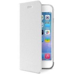 Чехол-книжка для Apple iPhone 6, 6S (R0007410) (кожа, белый)