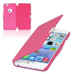 Чехол-книжка для Apple iPhone 6, 6S (R0007411) (кожа, розовый)