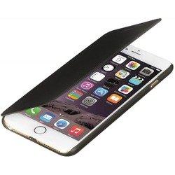 """Чехол-книжка для Apple iPhone 6, 6s 4.7"""" (R0007409) (кожа, черный)"""