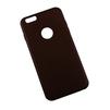 Чехол-накладка для Apple iPhone 6 Plus, 6s Plus (R0007615) (коричневый) - Чехол для телефонаЧехлы для мобильных телефонов<br>Плотно облегает корпус и гарантирует надежную защиту от царапин и потертостей.<br>