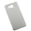 Чехол-накладка для Samsung Galaxy Alpha (R0007501) (прозрачный) - Чехол для телефонаЧехлы для мобильных телефонов<br>Плотно облегает корпус и гарантирует надежную защиту от царапин и потертостей.<br>