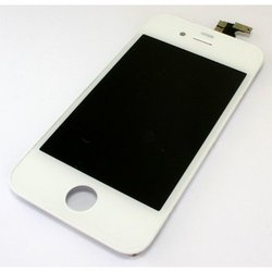 дисплей для apple iphone 4s с тачскрином (sm000483) (белый) (a) 1-я категория
