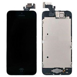 дисплей для apple iphone 5 с тачскрином (0l-00000089) (черный)