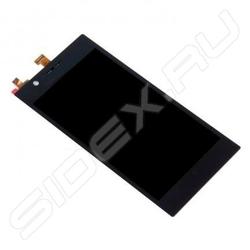 Дисплей для Lenovo K900 с тачскрином (R0001831) (чёрный)