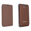 Чехол для Samsung Galaxy Note N7000 EFC-1E1CDECSTD  (коричневый) - Чехол для телефонаЧехлы для мобильных телефонов<br>Чехол для Samsung Galaxy Note N7000 коричневого цвета выполнен из высококачественной кожи ручной работы. Чехол украсит Ваш смартфон и защитит его от падений, царапин, потертостей и загрязнения.<br>