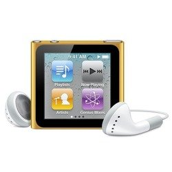 apple ipod nano 6 8gb orange