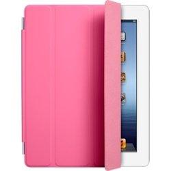 Чехол для iPad 2 / iPad 3 new / iPad 4 Smart Cover - Polyurethane (MD308ZM/A) (полиуретановый, розовый)