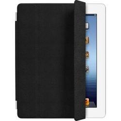 Чехол для iPad 2 / iPad 3 new / iPad 4 Smart Cover - Leather (MD301ZM/A) (кожаный, черный)