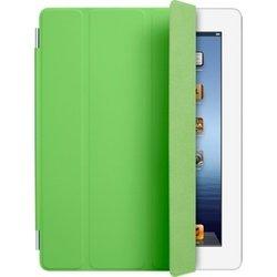Чехол для iPad 2 / iPad 3 new / iPad 4 Smart Cover - Polyurethane (MD309ZM/A) (полиуретановый, зеленый)