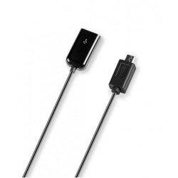 Кабель Micro USB-OTG (microusb - OTG) (USB-OTG Deppa 15см)