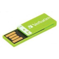 Verbatim Clip-it 4Gb (зеленый)