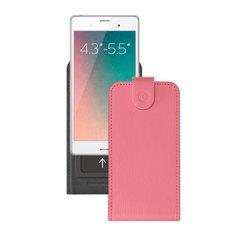 """Универсальный чехол-флип для смартфонов 4.3-5.5"""" (Deppa Flip Slide M 81052) (розовый)"""