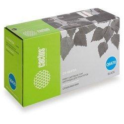 Картридж для HP Color LaserJet CP3505, 3600, 3800 Cactus CS-Q6470A (черный)