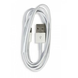 ����-������ Lightning - USB ��� Apple iPhone 5, 5C, 5S, 6, 6 plus, iPad 4, Air, Air 2, mini 1, mini 2, mini 3 (Smartbuy iK-512) (�����)