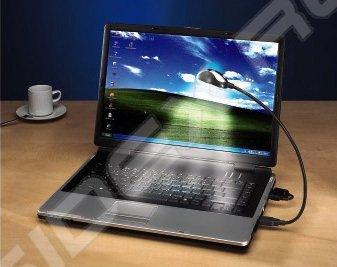 Лампа Hama Gooseneck H-39730 для ноутбука низкое энергопотребление USB