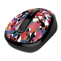 microsoft wireless mobile mouse 3500 limited edition geo prism black usb
