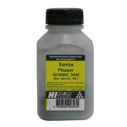 Тонер для Xerox Phaser 3010, WorkCentre 3045 (Hi-Black 20104083956) (черный) (60 гр)
