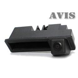 CCD штатная камера заднего вида для AUDI A6 (2011-...), AUDI A8 (2010-..), Q7 (интегрированная с ручкой багажника) (Avis AVS321CPR (#004))