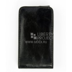 чехол-флип для samsung galaxy mini s5570 (cd123806) (черный)