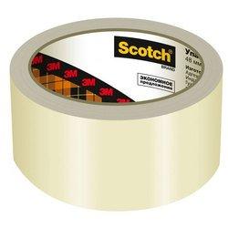 Клейкая лента 3M A2J Scotch Эконом упаковочная прозрачная 48х50мм 40мкм (7000039510)