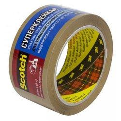 Клейкая лента 3M C5066F6В Scotch упаковочная суперклейкая коричневая 50х66мм 48мкм (7000035400)