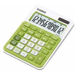 Калькулятор настольный Casio MS-20NC-GN-S-EC (зеленый)